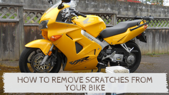 How to Remove Scratches From Your Bike