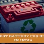 Best Batteries for Bike