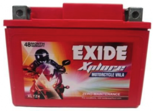 exide xplore xlz4 battery
