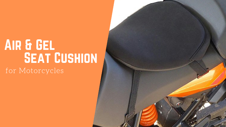 Air and Get Seat cushion for Motorcycles