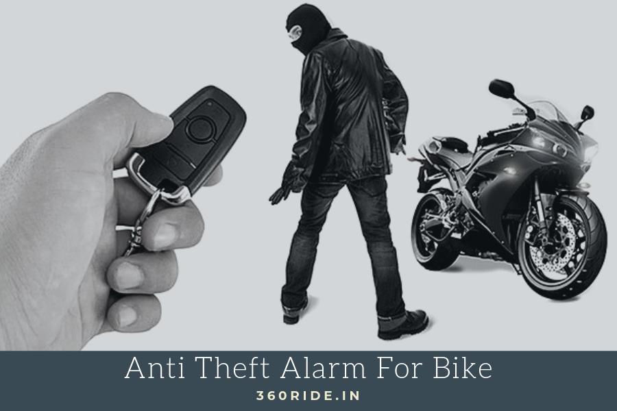 Anti Theft Alarm for Bike