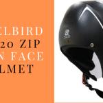 Steelbird SBH20 ZIP Open Face Helmet