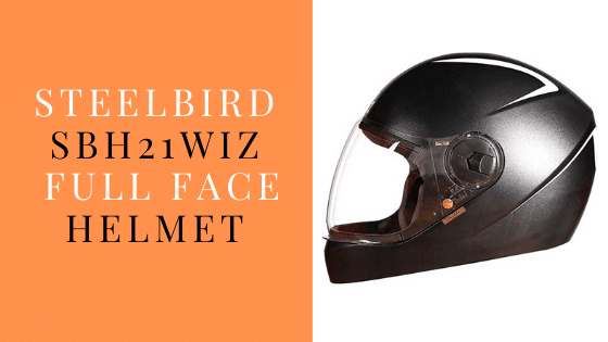 Steelbird SBH21 Wiz Full Face Helmet